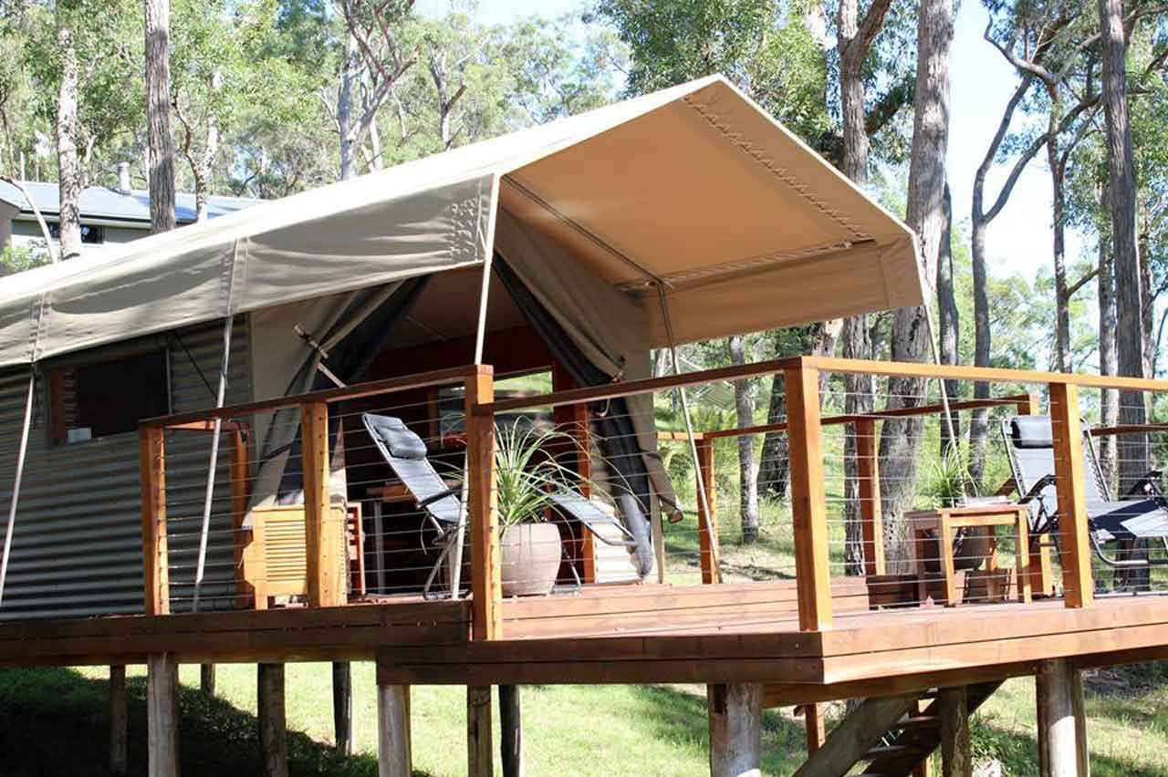 the-escape-safari-tent-web & Glamping Experiences near Sydney. Three of the Best!