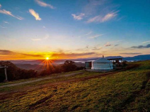 The Yurt Alpine Retreat, Victoria
