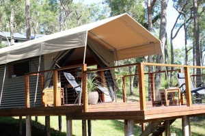Glamping: The Escape