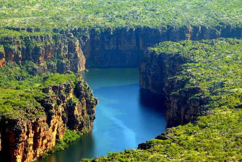 Faraway gorge