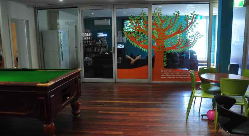 habitat-hq interior
