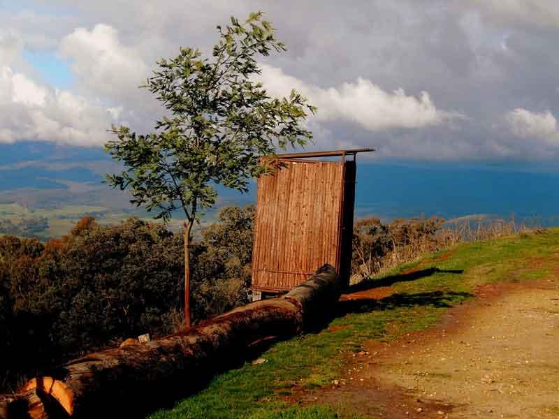 mongolian yurt toilet