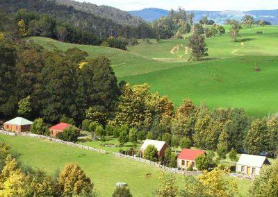 Tin Dragon Trail Cottages, Tasmania