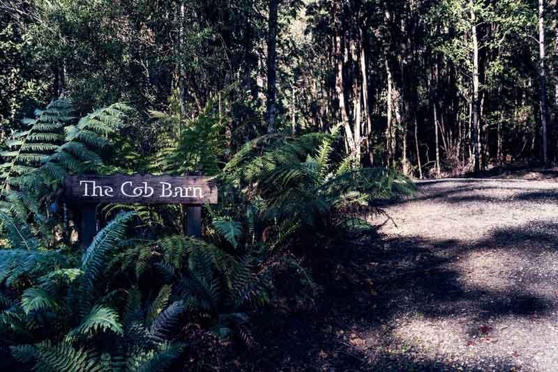 The Cob Barn Entrance