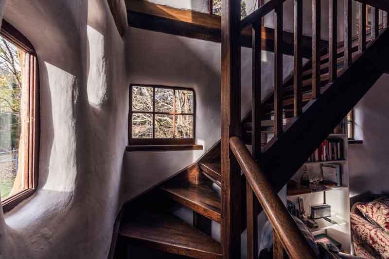 The Cob Barn Staircase