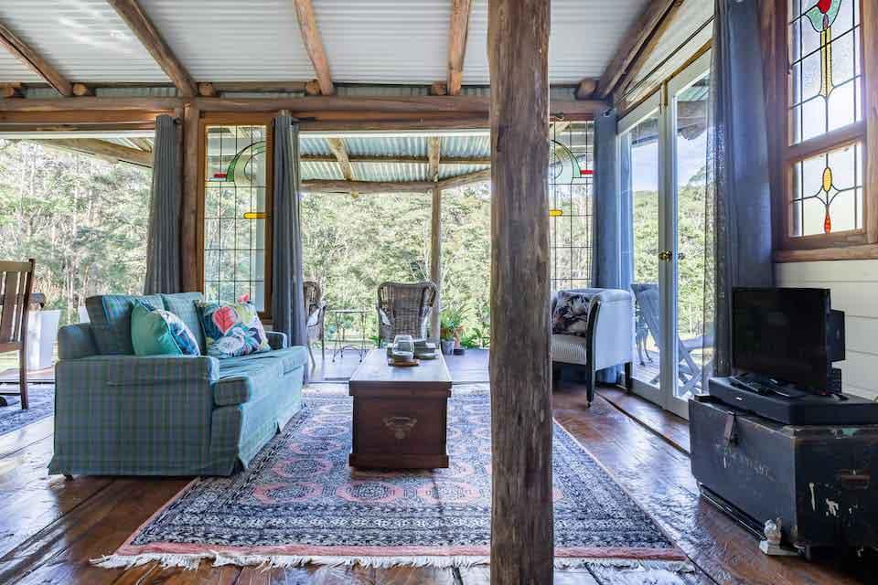 Loggers Cabin living
