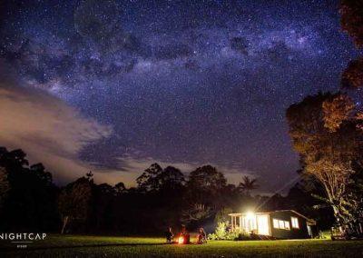 Loggers Cabin at Nightcap Ridge, NSW