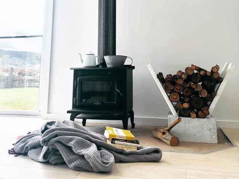 Ecohut fireplace