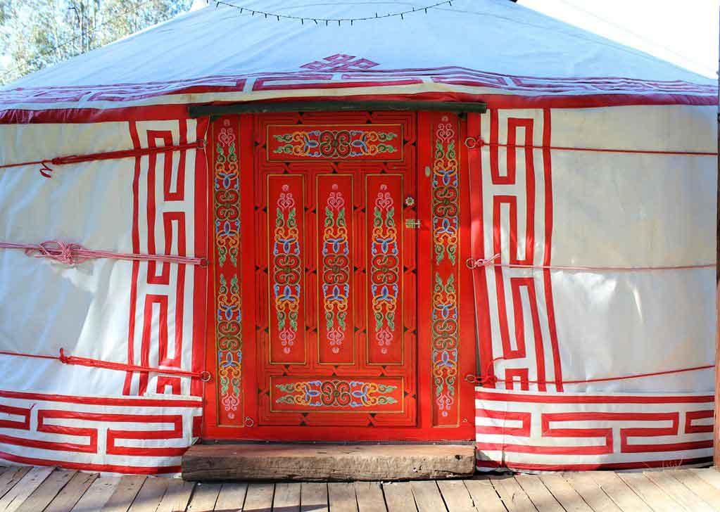 Yarranungarra yurt