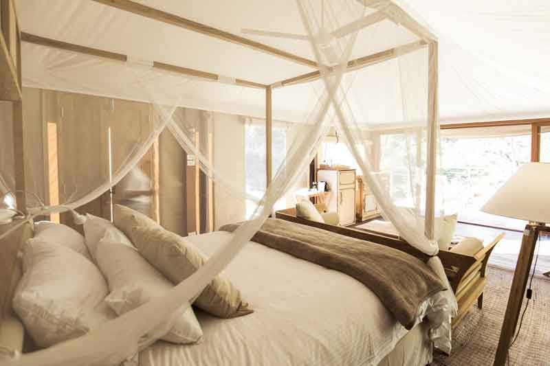 Glamping Turon gates Beautiful Bed
