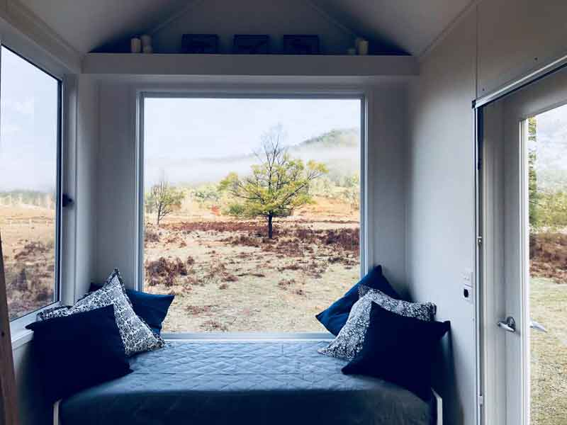 Tiny House Hunter Valley view