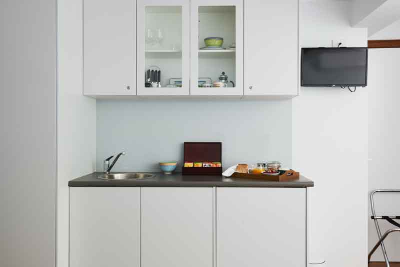 Kitchenette in the Blue Mountains apartment