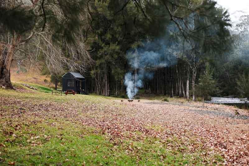 Barrington Eco Hut Location