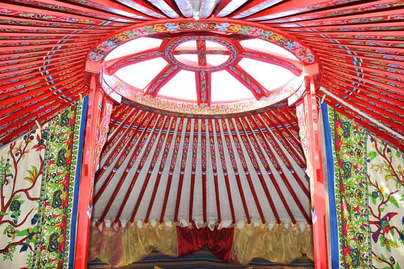 yurt roof