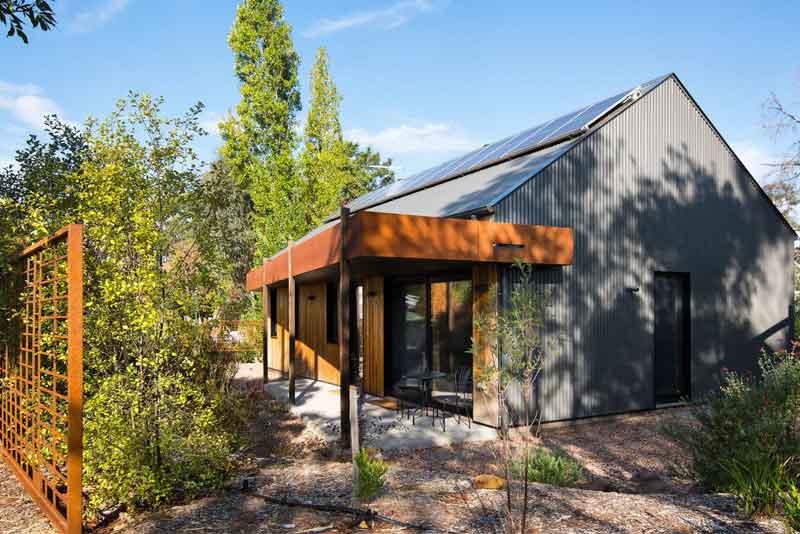 Green Retreat exterior