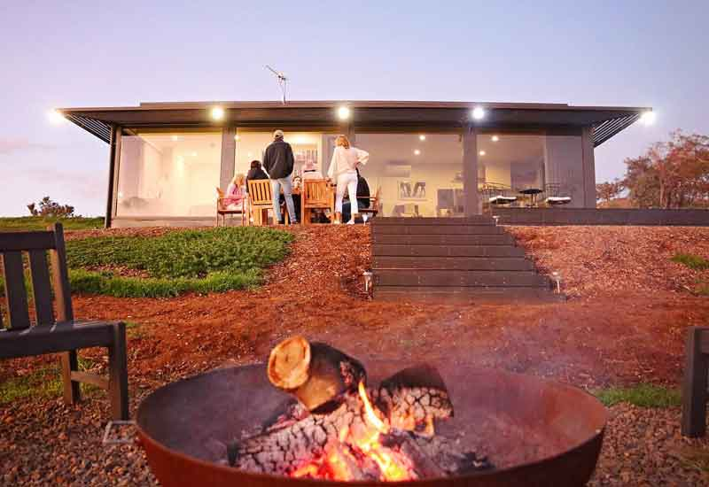 Belisi-Farmstay-Cottage-fireplace