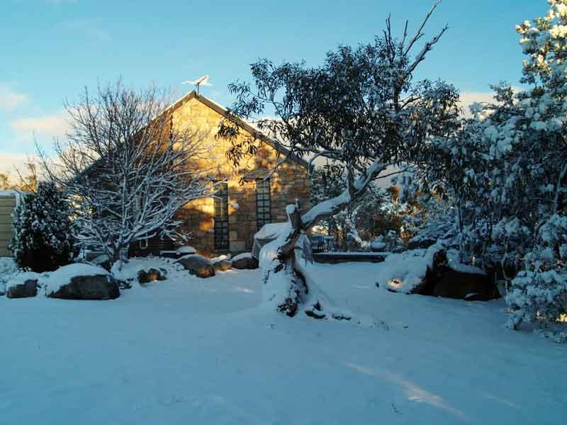 Touchdown Cottages Winter