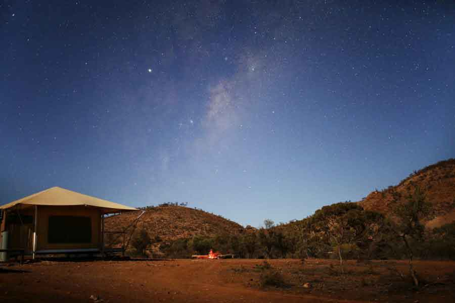 Flinders-Bush-Retreats-Eco-Tent-Twilight
