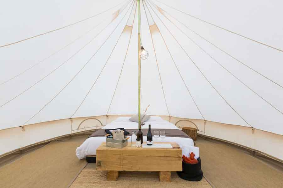 Bay-of-Fires-Bush-Retreats-Bell-Tents-interior
