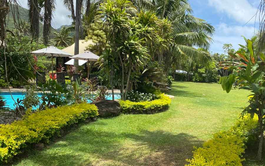 Ikurangi-Eco-Retreat-tropical-garden-setting