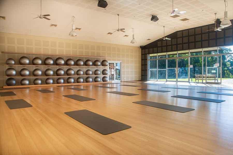 indoor activity room