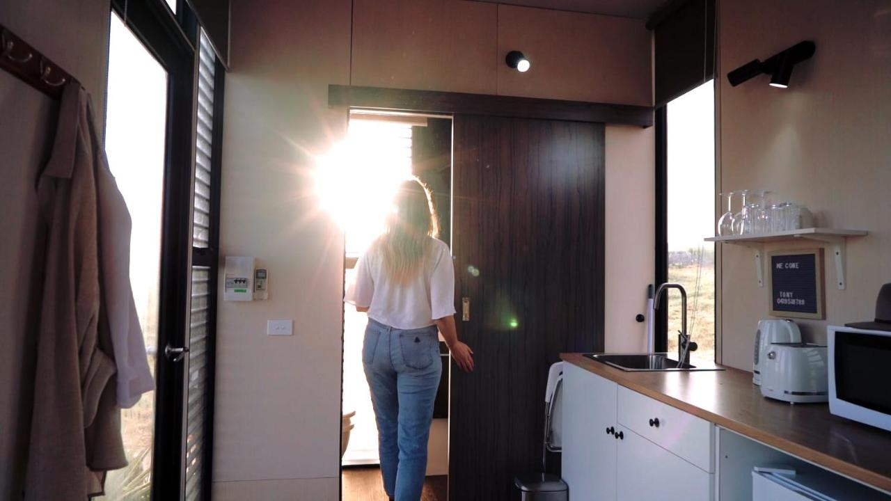 Internal view of the tiny house