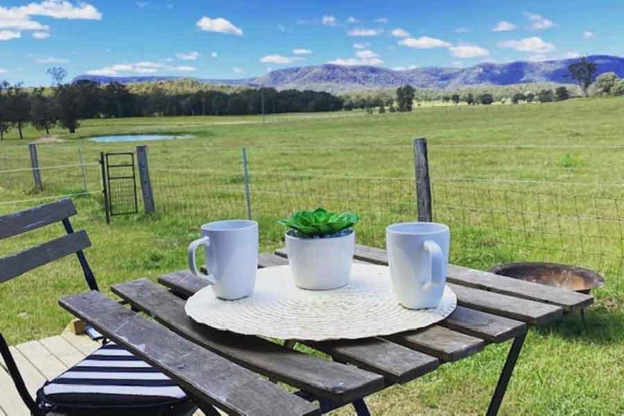 Watagan-View-Tiny-House-morning-coffee